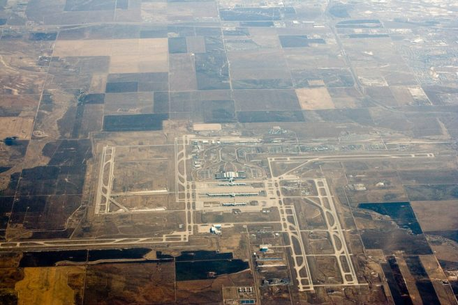 Denver International Airport Conspiracy - Aerial View