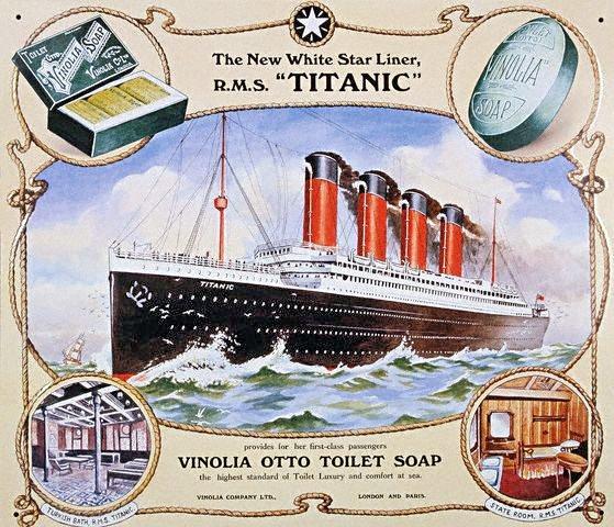Titanic Advertising Poster
