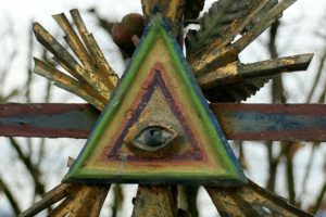Eye of Providence aka Illuminati Eye or All Seeing Eye