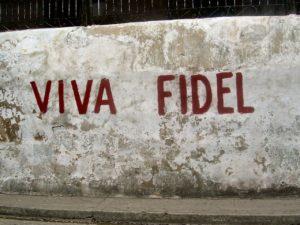 Castro Conspiracy Viva Fidel Wall
