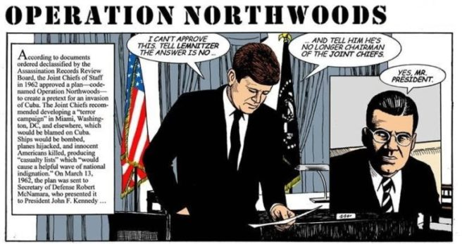 JFK Disapprove Operation Northwoods