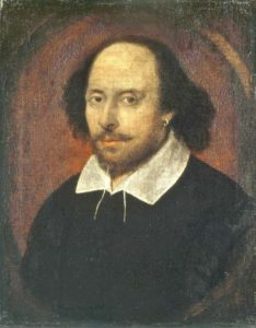 What is known to be William Shakespeare's picture