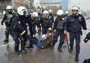 Turkey Protest Police Clash
