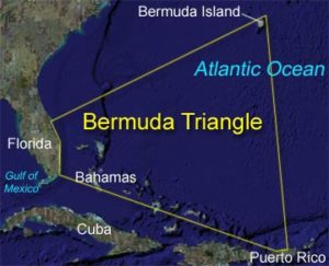 the bermuda triangle conspiracy The bermuda triangle has always attracted its share of conspiracy theories a while back, we posted an informative video about an interesting situation that was developing in the bermuda triangle region.